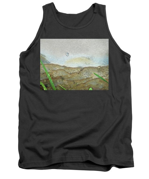 Rock Stain Abstract 5 Tank Top