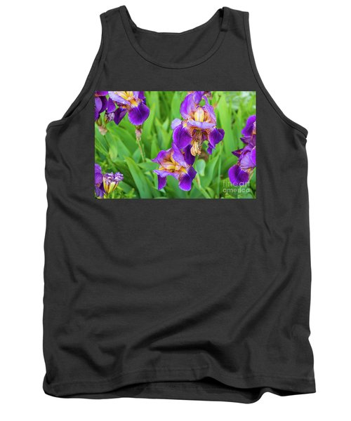 Royal Purple Irise Tank Top