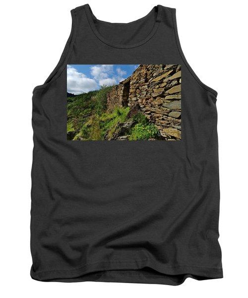 Ruins Of A Schist Cottage In Alentejo Tank Top
