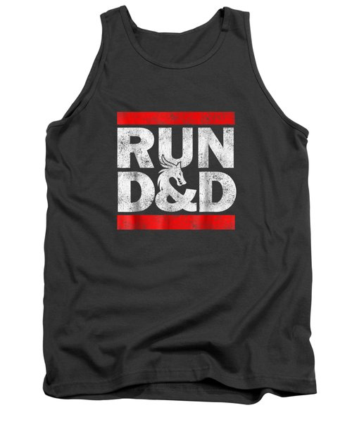 Run Dnd Dungeon Game Tabletop Rpg Shirt Tank Top