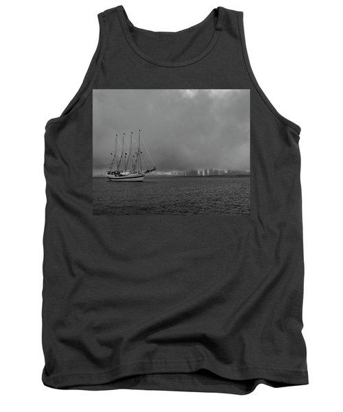 Sail In The Fog Tank Top