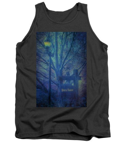 Salem Massachusetts  Witch House Tank Top