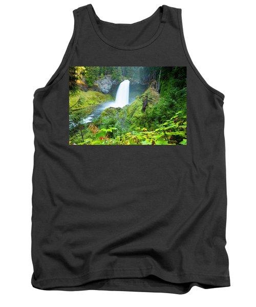 Scenic View Of Waterfall, Portland Tank Top