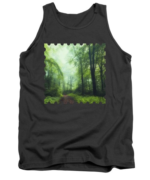 Scent Of Summer In The Forest Tank Top