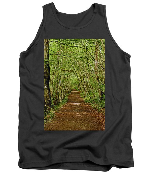 Scotland. Killiecrankie. Path Through The Trees. Tank Top