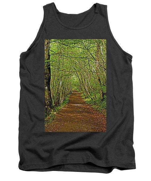 Scotland. Killiecrankie. Path Through The Trees. Tank Top