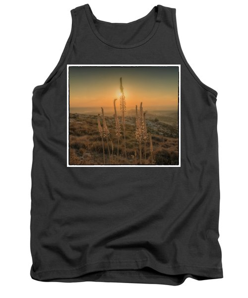 Sea Squills At Sunset Tank Top