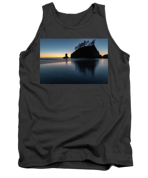 Sea Stack Silhouette Tank Top