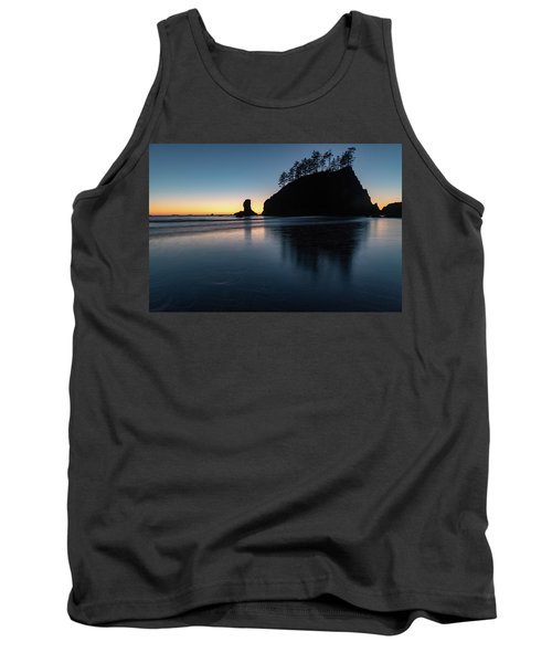 Sea Stack Silhouette Tank Top