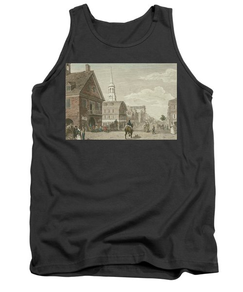 Second Street North From Market St. And Christ Church Tank Top