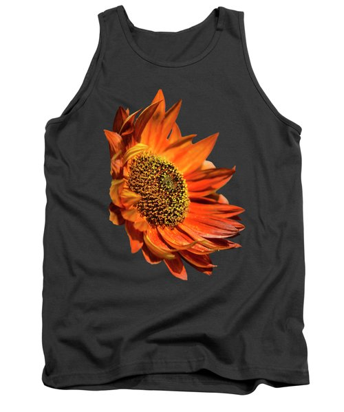 Selective Color Sunflower Tank Top