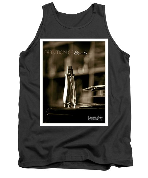 Sepia Definition Of Beauty Tank Top