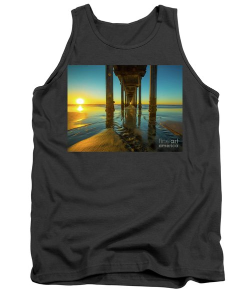 Serenity In San Diego Sunset 2 Tank Top