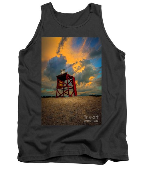 Setting In The Clouds Tank Top