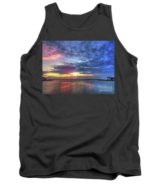 Ship Bottom Sunset Tank Top