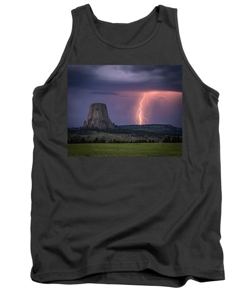 Showers And Lightning Tank Top