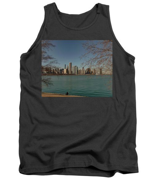 Sitting On A Summer Day Tank Top