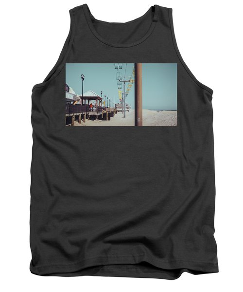 Tank Top featuring the photograph Sky Ride by Steve Stanger