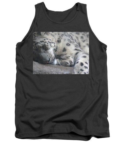 Sleeping Cheetah Tank Top