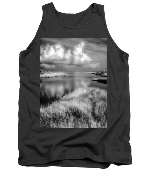 Smooth Waters Bw Tank Top