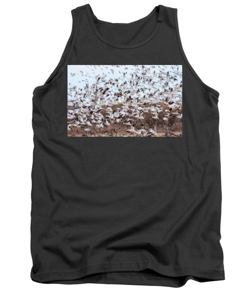 Snow Geese Chaos Tank Top