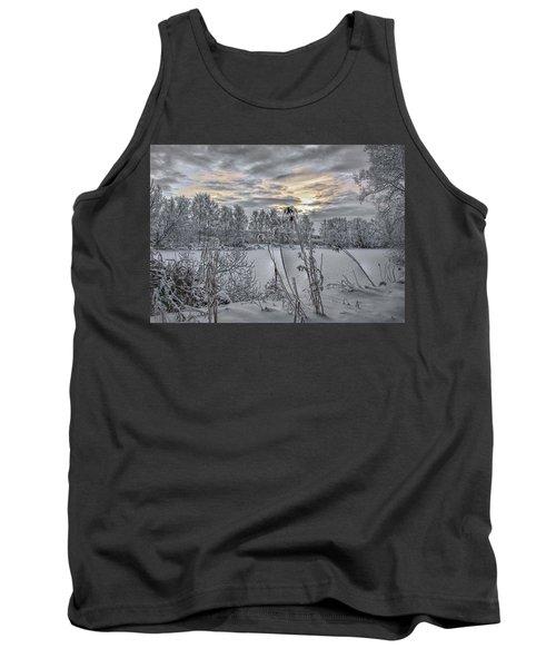 Snow #i3 Tank Top