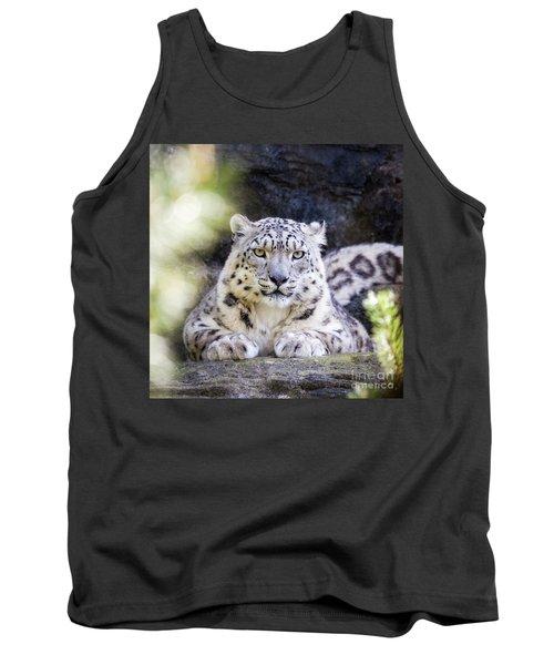 Snow Leopard Tank Top