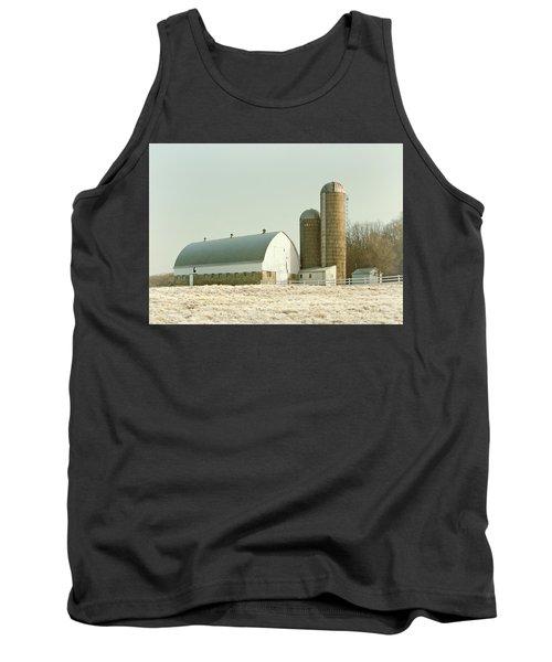 Snowy Farm Tank Top