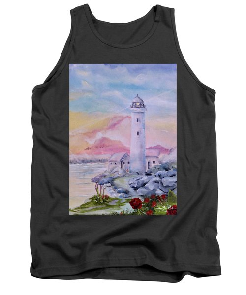 Soft Lighthouse Tank Top