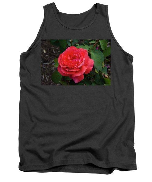 Solitary Rose Tank Top