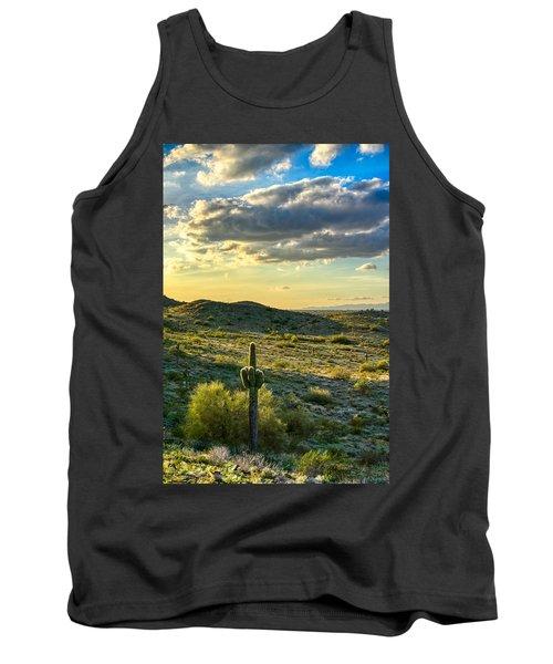Sonoran Desert Portrait Tank Top