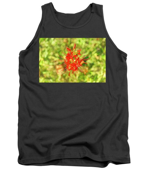 Spider Lily Pop Tank Top