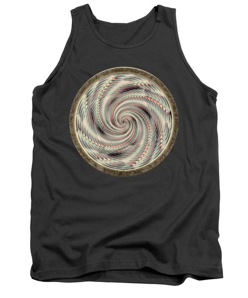 Spinning A Design For Decor And Clothing Tank Top