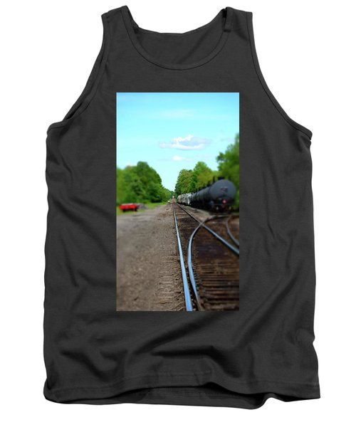 Split Rail Tank Top