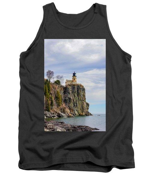 Split Rock Lighthouse Portrait Tank Top