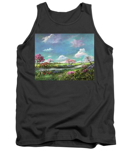 Spring In The Garden Of Eden Tank Top