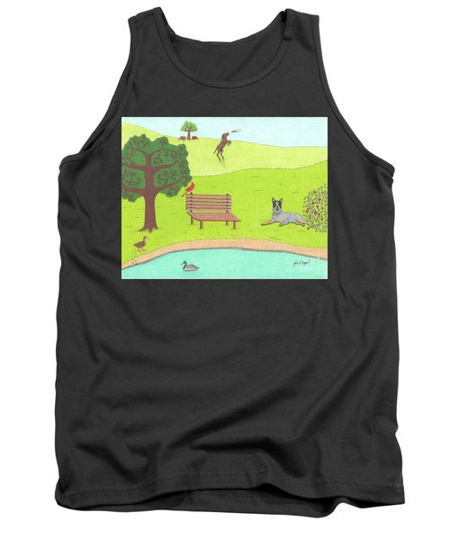 Spring Is In The Air Tank Top