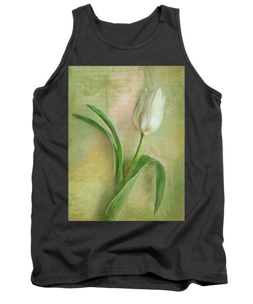 Spring Tulip Montage Tank Top