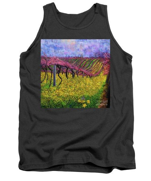 Spring Vineyard Tank Top