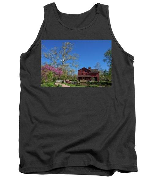 Springtime At Bonneyville Mill Tank Top
