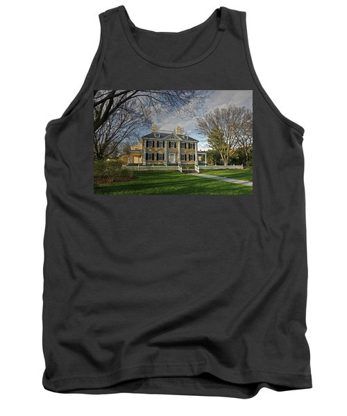 Springtime At Longfellow House Tank Top