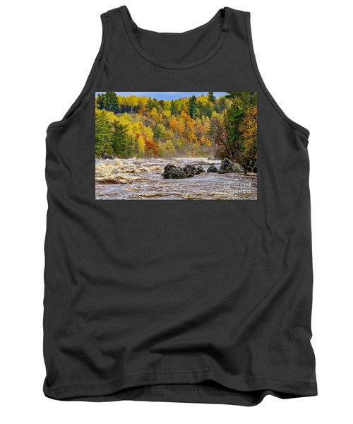 St. Louis River At Jay Cooke Tank Top