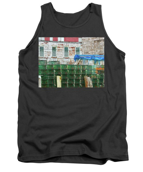 Stacked Lobster Traps Tank Top