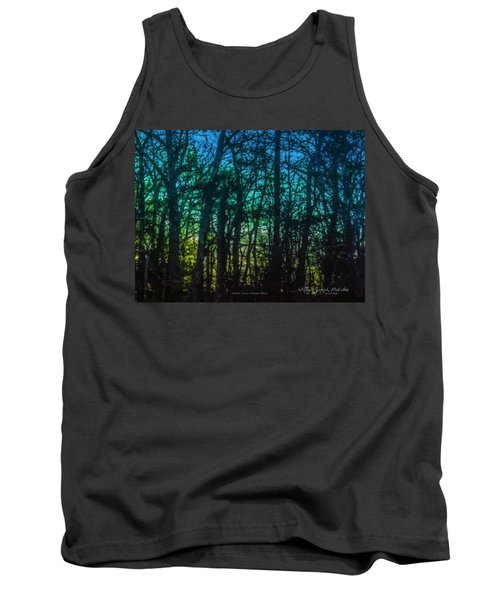 Stained Glass Dawn Tank Top