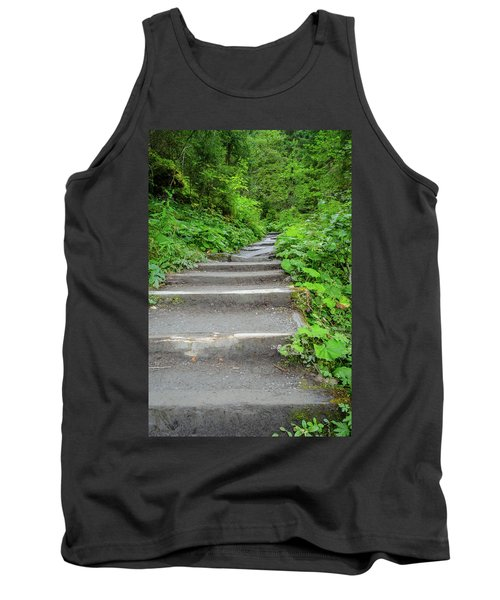 Stairs To The Woods Tank Top