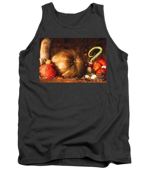 Still Life With Pumpkins Tank Top