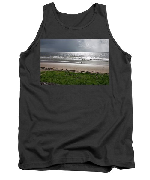 Storm Brewing Over The Sea Tank Top