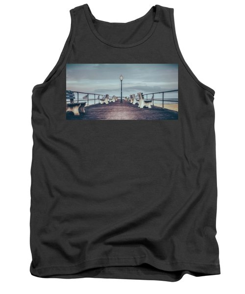 Stormy Boardwalk Tank Top