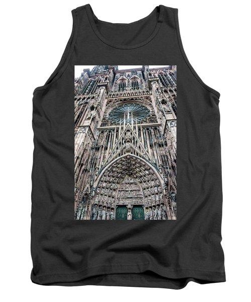 Strasbourg Cathedral Tank Top