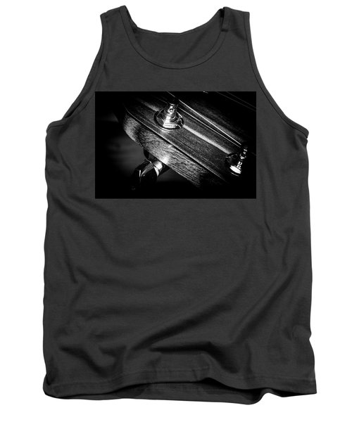 Tank Top featuring the photograph Strings Series 20 by David Morefield